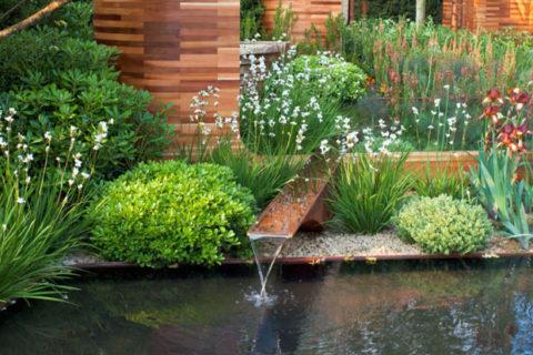 urejanje okolice - vodni motiv