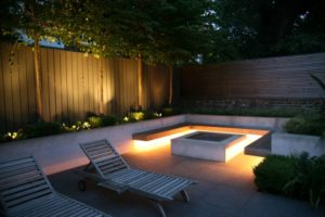 Osvetlitev vrta urejanje okolice